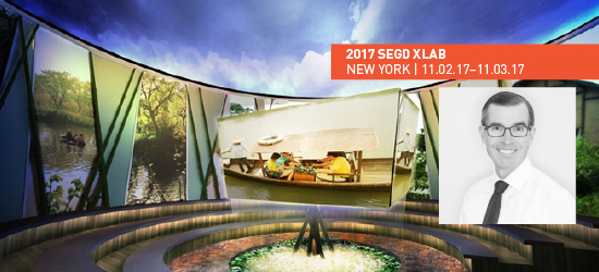 Join Patrick Gallagher, FSEGD, at the 2017 SEGD Xlab event.