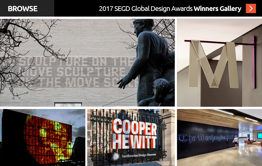 Click to see the 2017 SEGD Global Design Award Winners