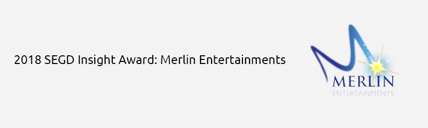2018 SEGD Insight Award congratulations to Merlin Entertainments
