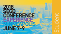 Click to Register for Conference as an SEGD member