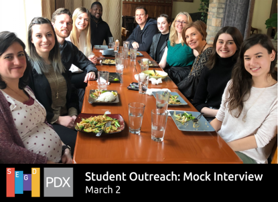2018 Portland Chapter Student Event