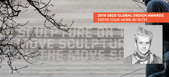 2018 SEGD Global Design Awards: Interview with Valentin Spiess