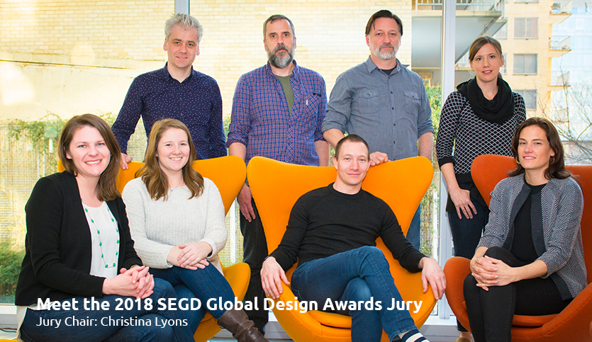 Meet the 2018 SEGD Global Design Awards Jury