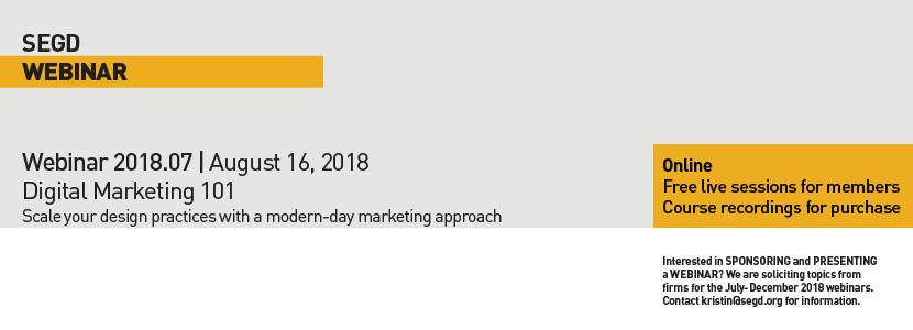 2018 Webinar 07 Digital Marketing 101