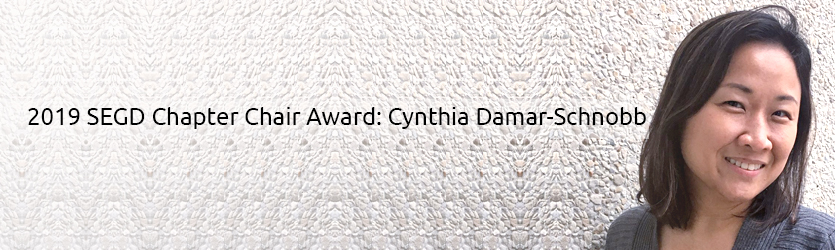 2019 SEGD Chapter Chair Award: Cynthia Damar-Schnobb