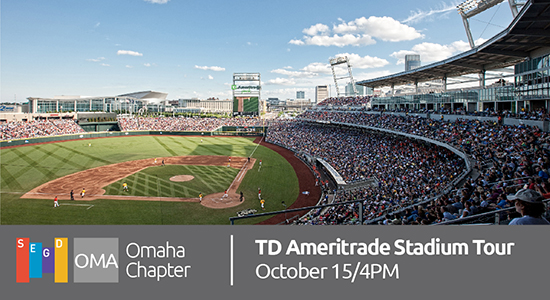 SEGD Omaha Chapter TD Ameritrade Stadium Tour
