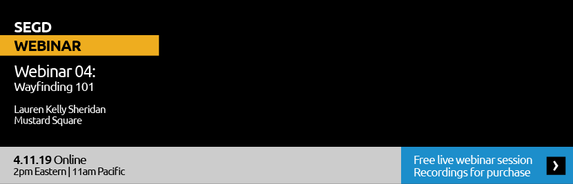 Webinar 04: Wayfinding 101