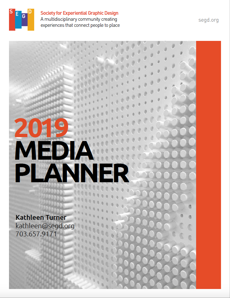 Click to download the 2019 SEGD media and sponsorship planner