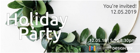 Holiday Party Event December 5th