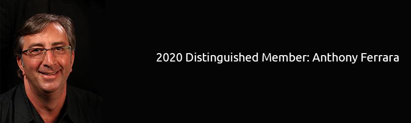 2020 SEGD Distinguished Member: Anthony Ferrara