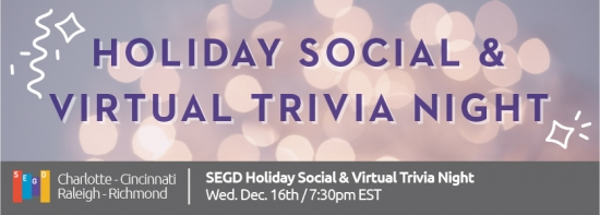 Holiday Social & Virtual Trivia Night
