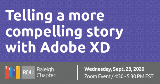Telling a more compelling story with Adobe XD