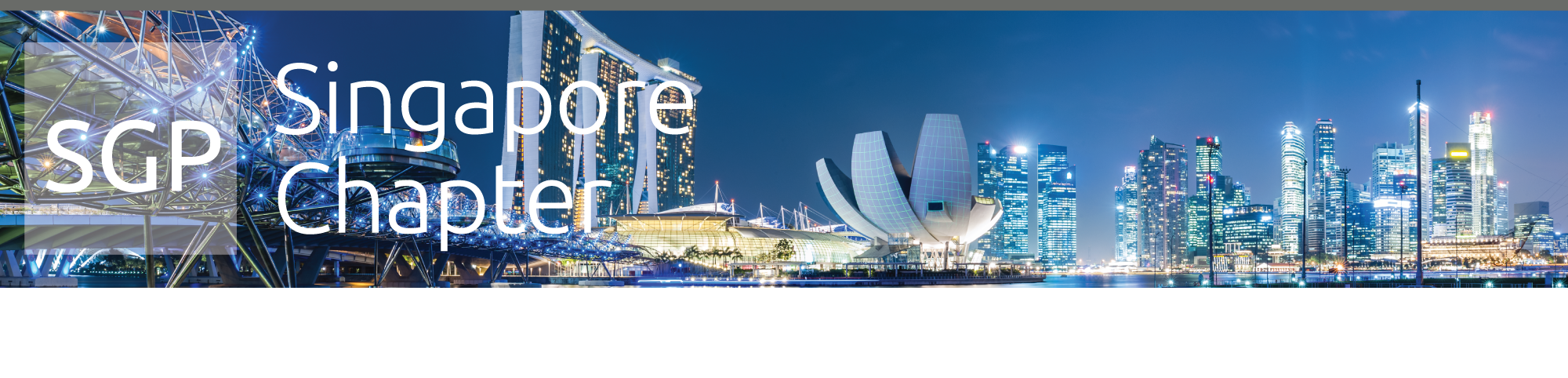 Singapore Chapter Header