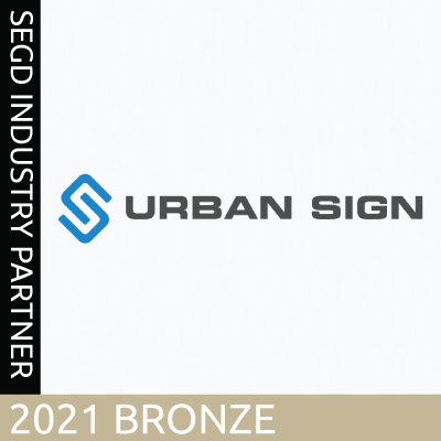 Urban Sign, 2021 SEGD Bronze Industry Partner