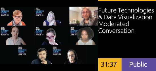 Future Technologies & Data Visualization Moderated Conversation
