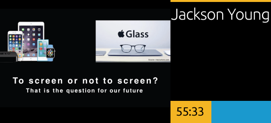 To Screen or Not to Screen? That is the Question for Our Future, Jackson Young