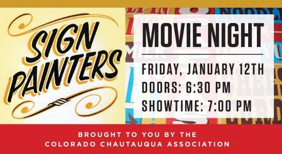SEGD Denver Sign Painters Movie Night