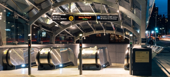 Second Avenue Subway Wayfinding with C&VE