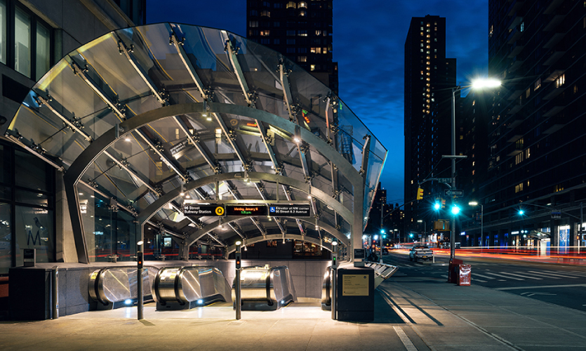 Second Avenue Subway Wayfinding With C