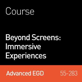 2014 Webinar   Beyond Screens: Immersive Experiences
