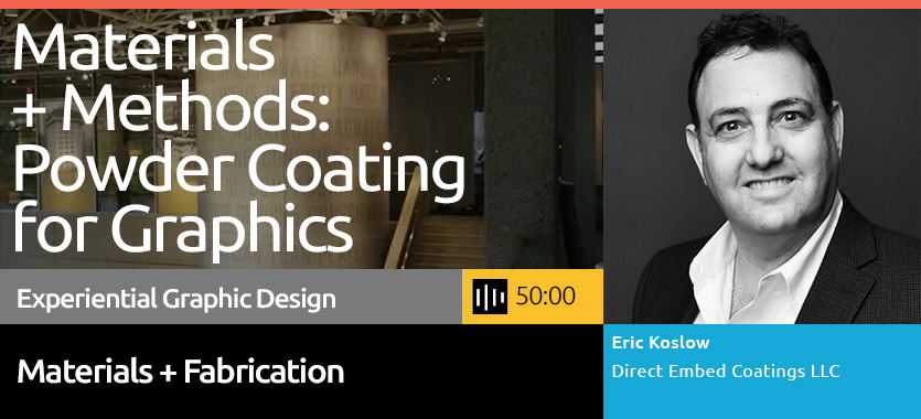 Powder Coated Graphics are among the leading approaches to long term durable applications. This webinar will review the history of innovation behind the technology.