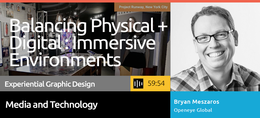 Balancing Physical + Digital with Immersive Environments