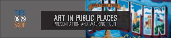 Art in Public Places - Banner