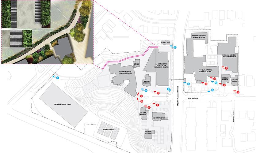 Branksome Hall Campus Wayfinding Segd