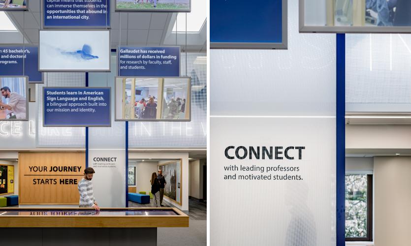 DeafSpace Exhibit Design at Gallaudet University's Maguire Center   SEGD