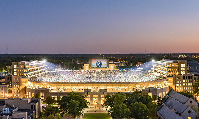 Notre Dame Stadium Enhancement | SEGD