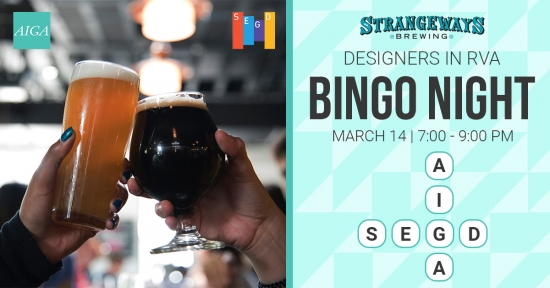 AIGA and SEGD Bingo Night