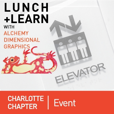 Charlotte Chapter Lunch & Learn with Alchemy Graphics on 10/23