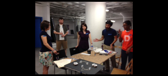 Image of the group working at the Boston Summer Charette