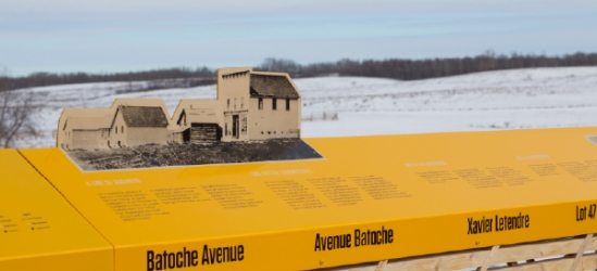 Form:Media Creates Story on the Landscape in Batoche