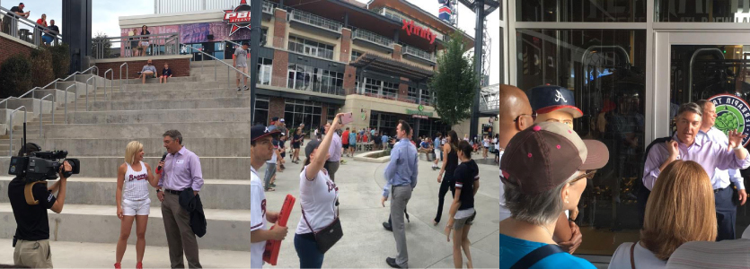 SunTrust Park and the Battery Type Walk Tour