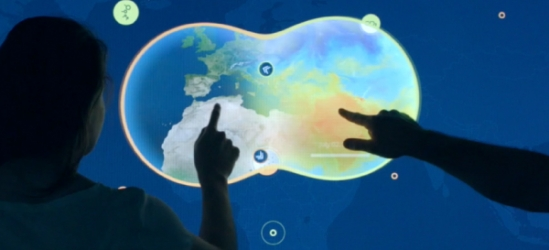 Bluecadet Helps NASA Visitors Gain a New World View with Data Lens