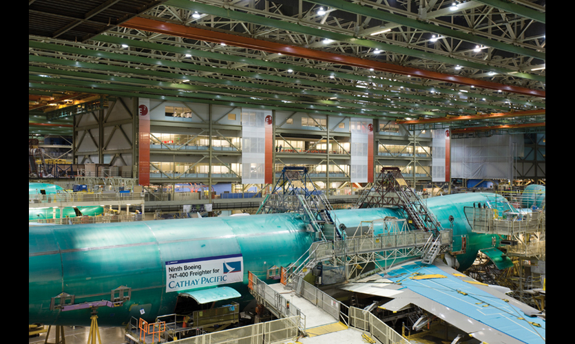 Boeing Future Factory Segd