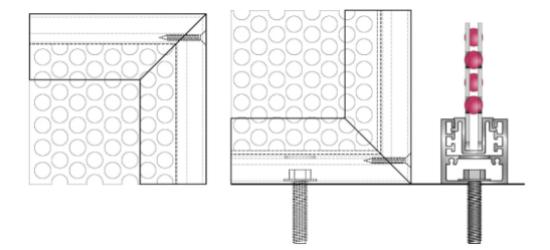 Drawing of Jim Bolek Fence Detail