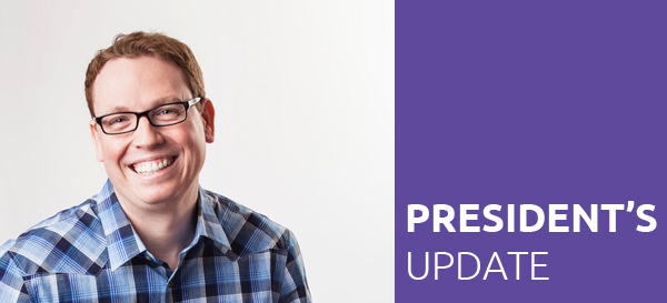 Bryan Meszaros 2018 SEGD President end of year update
