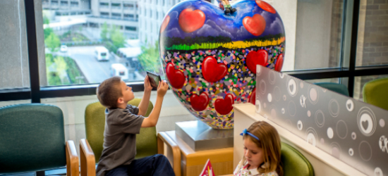 Artwork at Cincinnati Children's Hospital Medical Center