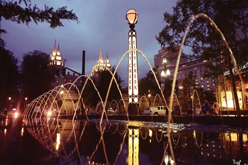 City Creek, Salt Lake City by Selbert Perkins Design Collaborative