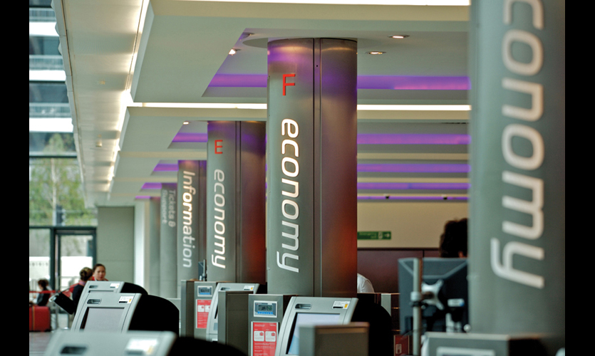 Virgin Atlantic Terminal at Heathrow Airport | SEGD