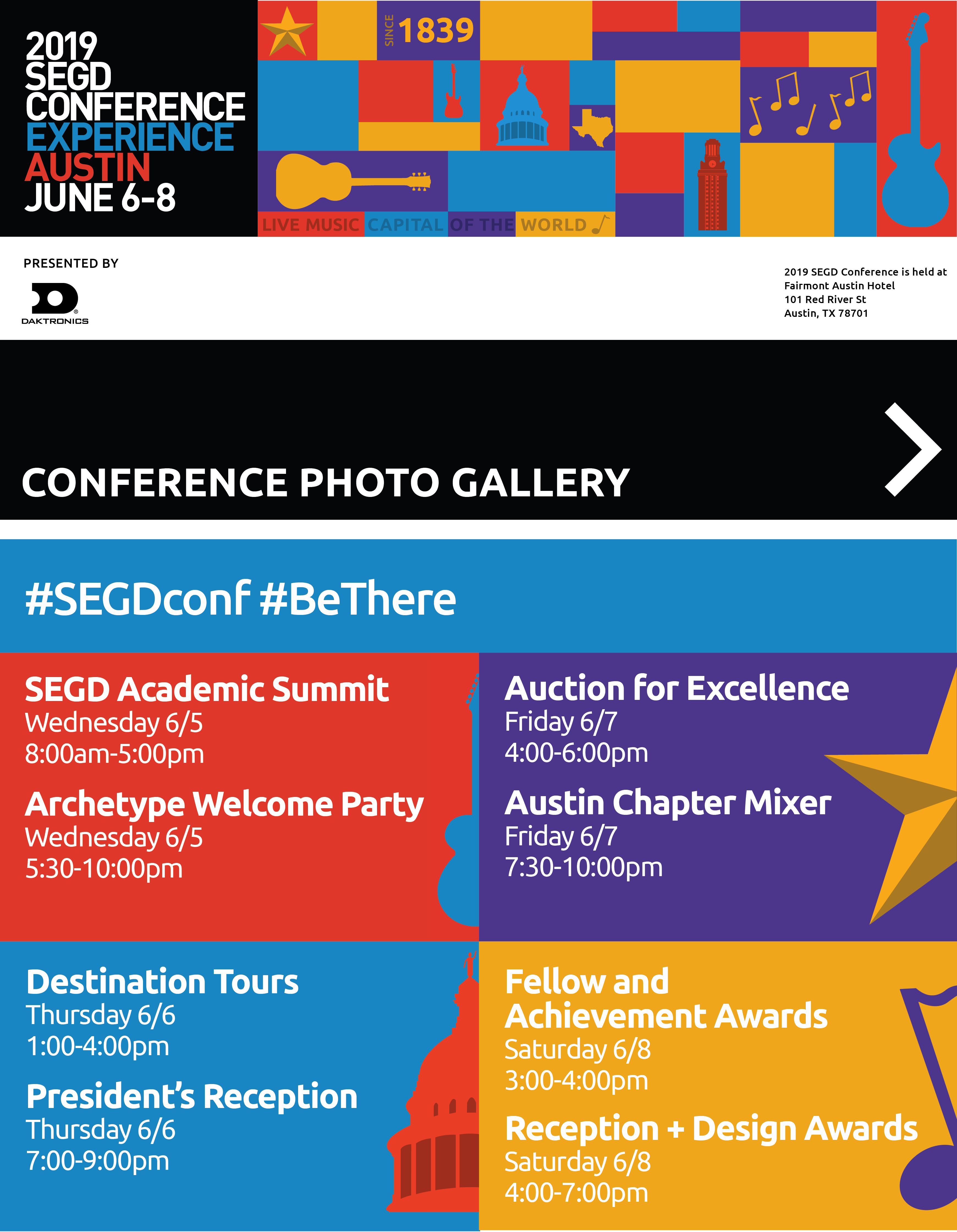 2019 Conference Experience in Austin, June 6 through 8