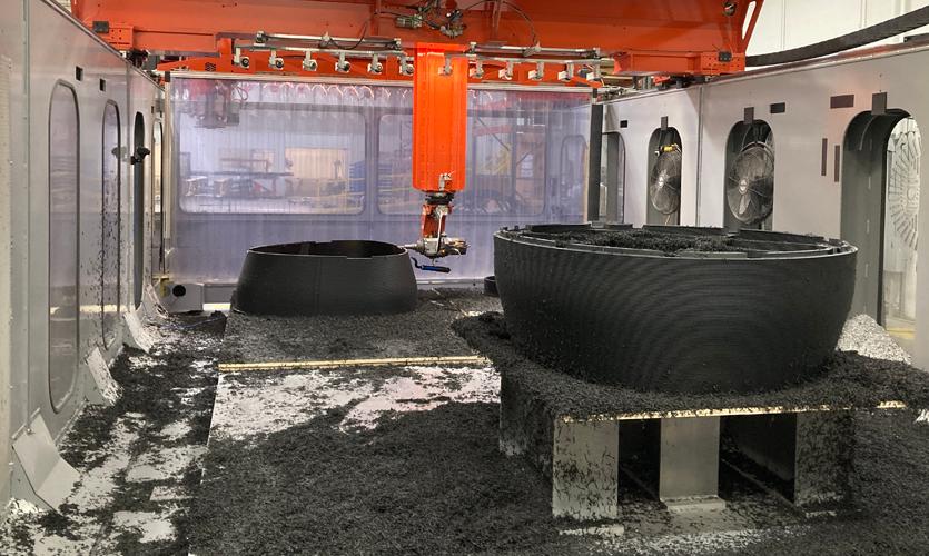 3D Printed Furniture: DI Creates Benches for IDS Center Atrium