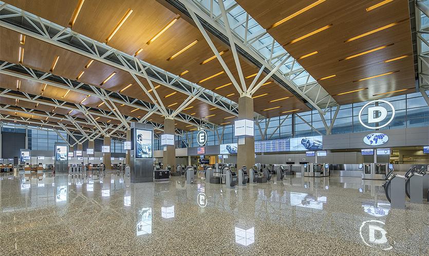 Entro S Calgary Airport Wayfinding Segd