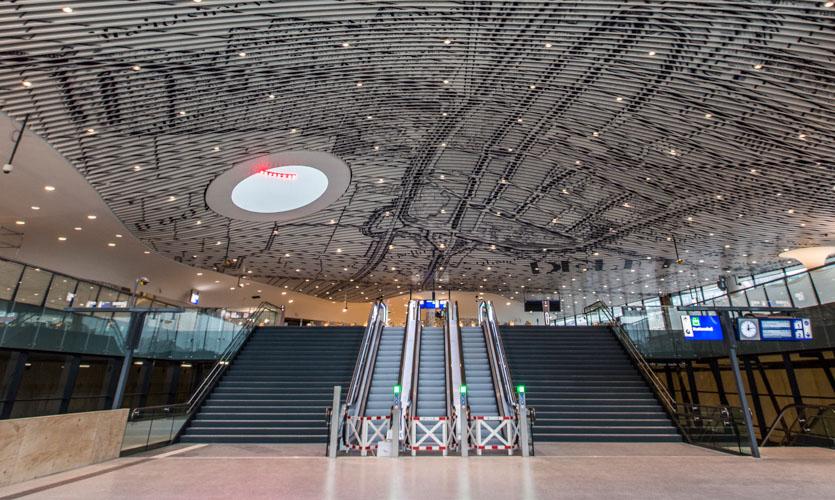 Delft Station Ceiling SEGD