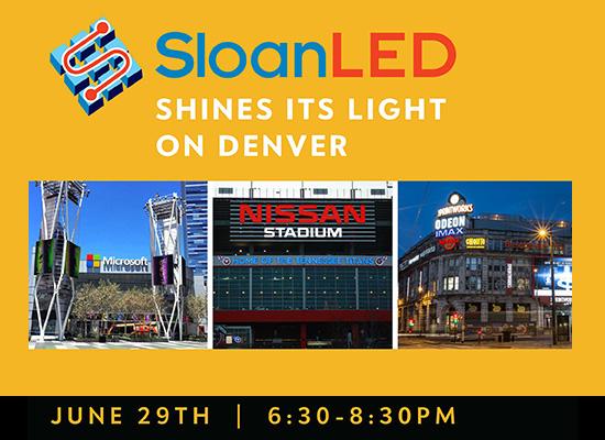 SloanLED Shines its Light on Denver