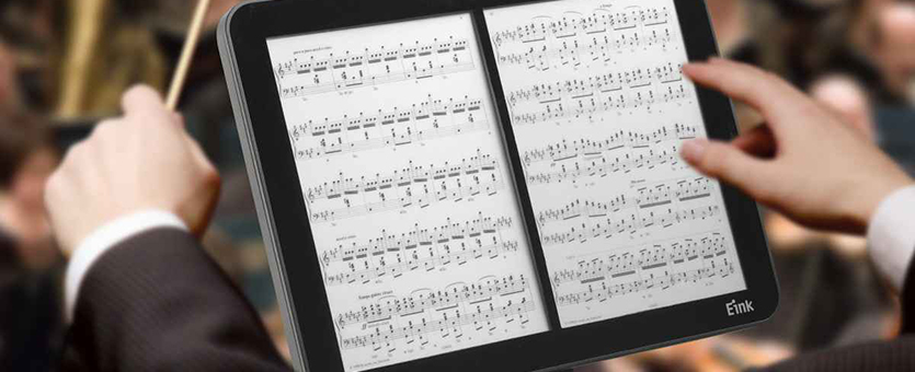 Image of E-Ink Music Stand