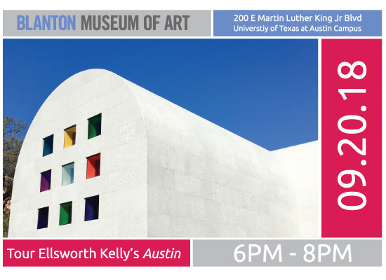 Tour Ellsworth Kelly's Austin at the Blanton
