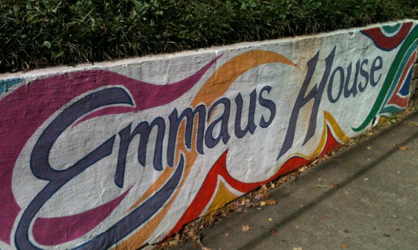 Emmaus House wall